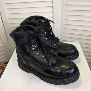 Wrangler Steel Toe Work Boots sz 6.5